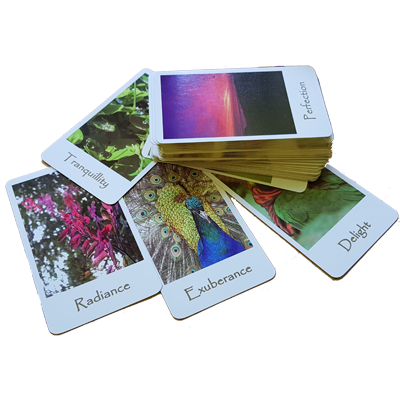A selection of Radiant Affirmation cards
